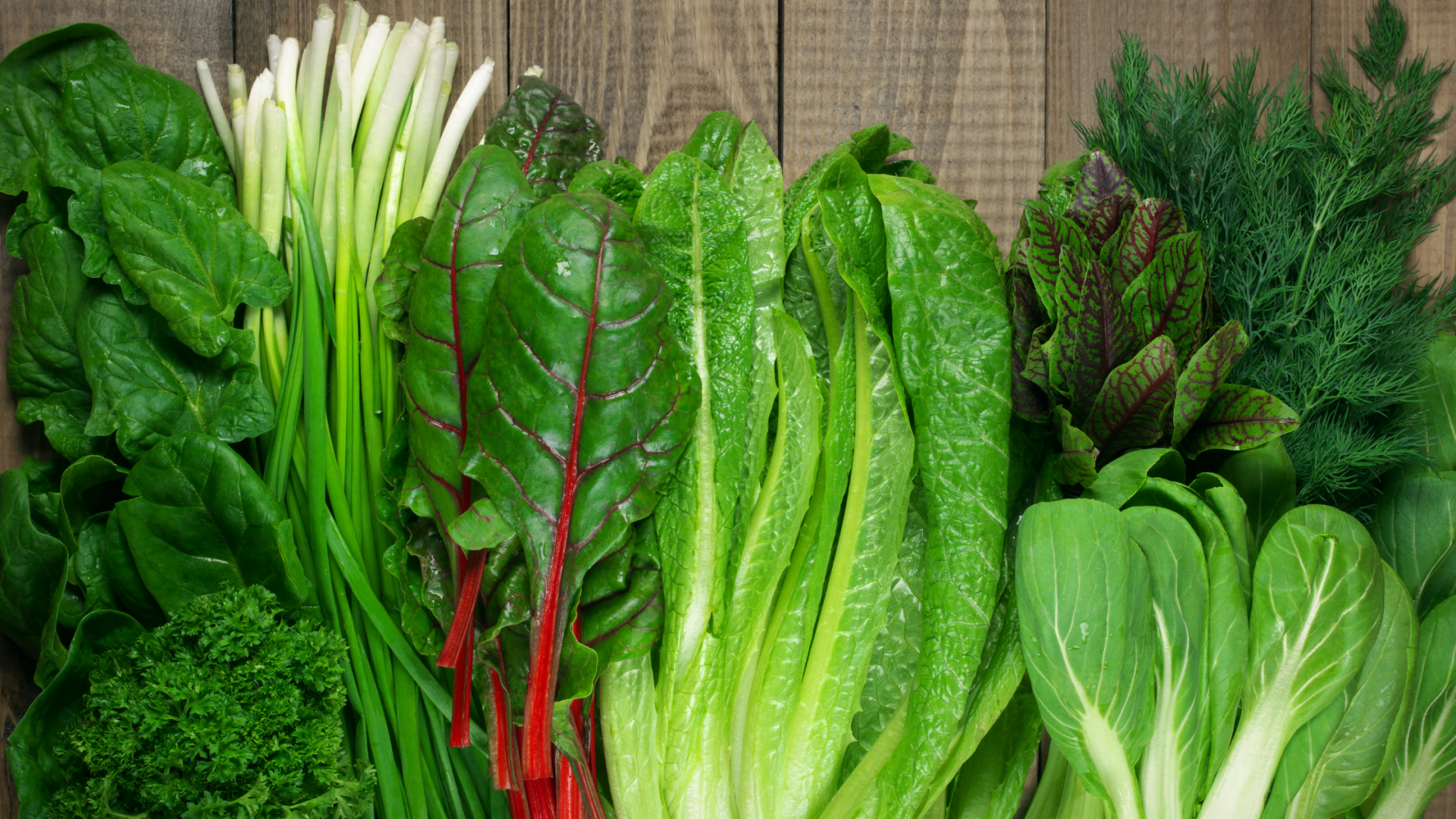green leafy vegetables are important to boost fertility on a plant based diet